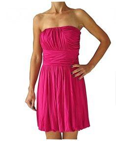 TOPSHOP - WSPANIAŁA RÓŻOWA  SUKIENKA - 38 Strapless Dress Formal, Formal Dresses, Topshop, Fashion, Dresses For Formal, Moda, Formal Gowns, Fashion Styles, Formal Dress