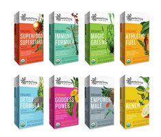 Essential Living Foods — The Dieline - Package Design Resource