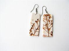 Polymer clay handmade earrings. feelingfimo, Flickr