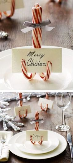 15 Christmas Projects DIY Christmas Projects - Get in the holiday spirit with 15 Christmas projects!DIY Christmas Projects - Get in the holiday spirit with 15 Christmas projects! Noel Christmas, Winter Christmas, Christmas Dishes, Christmas Ornaments, Ideas For Christmas, Scandinavian Christmas, Christmas Center Pieces Diy, Diy Christmas Projects, Candy Cane Christmas