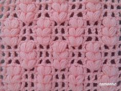 Very Easy Spike Model Fiber Making - Szydełko - Crochet Borders, Crochet Stitches Patterns, Crochet Squares, Crochet Motif, Crochet Designs, Knit Crochet, Knitting Patterns, Crochet Towel, Easy Crochet