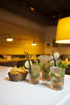 Mojitos and snacks to end the day! #TOCBarcelona