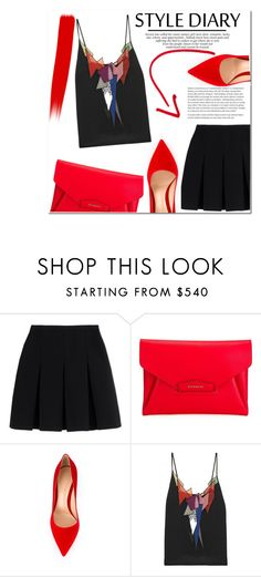"""Untitled #1066"" by samha ❤ liked on Polyvore featuring Alexander Wang, Givenchy, Gianvito Rossi and Christopher Kane"