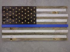 Barn wood! My customer Rick made this blue line flag from the wood he bought at Rustic Revival Barnwood. Come into shop for your DIY project or buy one of the many gorgeous flags we have in stores. http://www.facebook.com/rusticrevivalbarnwood OR shop online http://www.etsy.com/shop/RusticRevivalBarnwd  #reclaimed #rustic #barn #wood #rusticrevivalbarnwood #minnesota #americanflag