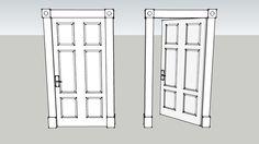 Panel Door - 3D Warehouse