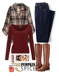 """""""Untitled #97"""" by leticiacarloni ❤ liked on Polyvore featuring Lands' End, Ariat, Bobeau, Miss Selfridge, Casetify, Chanel, Stila and Bobbi Brown Cosmetics"""