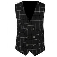 Ανδρικό γιλέκο καρό Stefan 4008 F/W18   Ανδρας - Ενδύματα - Vest, Jackets, Dresses, Fashion, Down Jackets, Vestidos, Moda, Fashion Styles, Dress