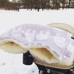 kostenlose Anleitung Kinderwagenmuff
