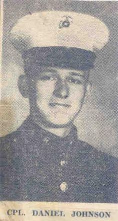 Virtual Vietnam Veterans Wall of Faces   DANIEL J JOHNSON   MARINE CORPS