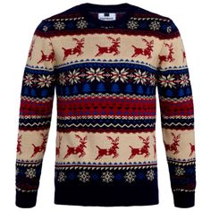 Topman Reindeer Knit Jumper €40.00