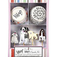 Kit cupcakes toutous pour l'anniversaire de votre enfant - Annikids