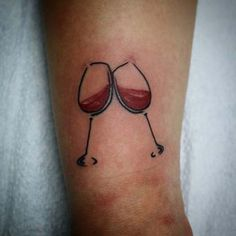 kadeh bilek dövmeleri bayan wine wrist tattoos for women