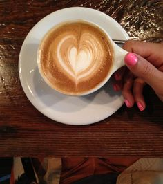 A Cappucino, no better way to start your morning