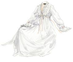 Vintage Tea Length Nightgown