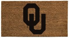 NCAA Oklahoma Sooners 16 x 28-Inch Coir Mat by Evergreen. $35.99. Easy to clean by vacuuming and washing with mild soap. Thick coir fibers are 100% organic and biodegradable, quick drying, water resistant, and absorb moisture without mildew. Extremely durable and tough in high-traffic areas, with anti-skid surface. Show your team spirit with this NCAA officially licensed coir mat. Coir is one of the strongest natural fibers in existence, extracted from the hairy h...