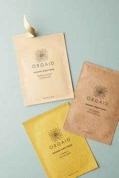 Orgaid Organic Sheet Mask $8.00 - vitamin C & Greek Yogurt Nourashing