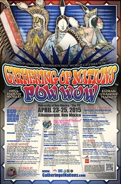 Pow Wow Calendar » » 2015 Gathering of Nations