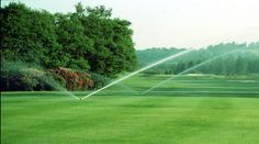 Irrigation System for golf turf