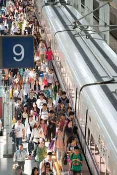 China Railway Corporation predicted on Wednesday that 110 million railway trips will be taken during the seven-day national holiday, an 11.3 percent rise on the same period last year. The travel rush is expected to peak on October 1, the first day of the holiday period, with over 14.2 million passengers set to journey by train.