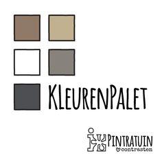 Kleurenpalet - #Pintratuin ♥ contrasten