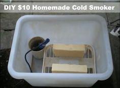 DIY $10 Homemade Cold Smoker