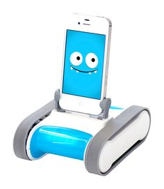 1 | Kickstarting: A Personal iPhone Robot Inspired By The Bondi Blue iMac | Co.Design: business + innovation + design