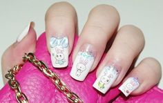 Lovely rabbit nail