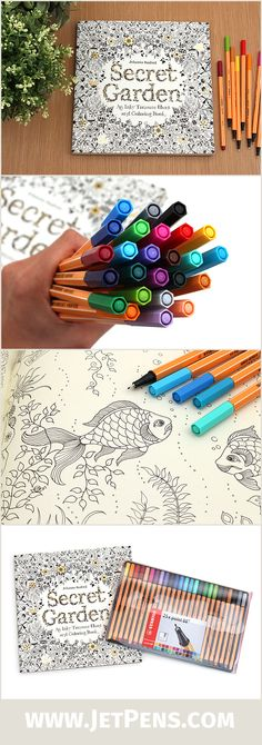 Best Markers for Adult Coloring Books.. Alcohol Based, Water based ...
