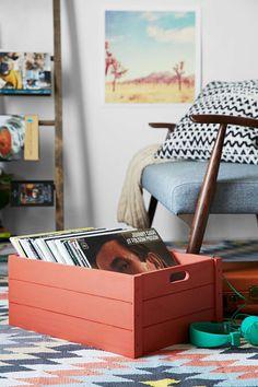 4040 Locust Vinyl Record Storage Crate