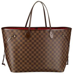Louis Vuitton Never Full GM  My all time favorite tote bag.  I've used it as a diaper bag, work bag, every day bag.  I had to go on wait list to get it and it was worth the wait!
