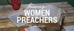 Excellent resources for women preachers by women preachers.