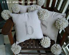 monogram_pom_pom_pillow_drop_cloth
