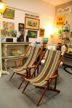 Vintage Beach Chairs (SOLD)