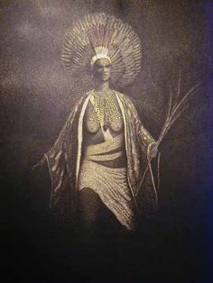 Queen Califia....whom California is named after...