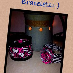 Duct tape bracelets at www.facebook.com/BranigansDuctTapeCreations.