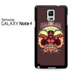 Deadpool Tacos Samsung Galaxy Note 4 Case