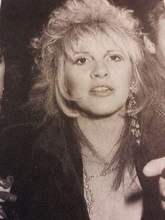 Stevie Nicks candid shot c. 1987.
