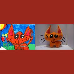 Turn your artwork OR pictures into custom stuffed plush toys! #PlushToys Create a perfect huggable friend that your kid will cherish! #HolidayGiftGuide