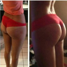 This is what squats can do for your butt..note to self: do the squat challenge!