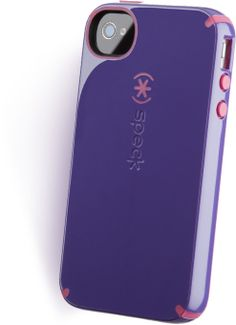 Speck CandyShell cases for iphone, ipod, ipad, Kindles, laptops, et al.  Geek pals say Speck makes the most shock-absorbent cases, with a hard plastic outside and soft rubbery center.  I love the fun two-toned colors and patterns. iphone cases are $34.95.  May 2012
