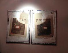 Cartons sur toile Frame, Home Decor, Canvas, Homemade Home Decor, A Frame, Frames, Hoop, Decoration Home, Interior Decorating