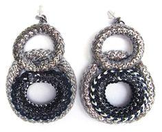 aros olimpia Crochet Earrings, Jewelry, Fashion, Moda, Jewels, Fashion Styles, Schmuck, Jewerly, Jewelery