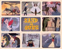 Claudio Acciari: Sand & Guns