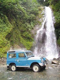 Falls in the Ecuador
