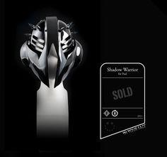 Shadow Warrior helmet by Smirk Masks