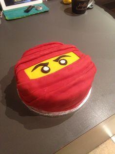 Homemade Lego ninja cake