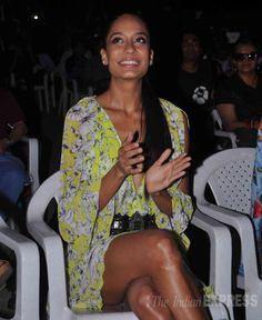Lisa Haydon at the music launch of Queen. #Style #Bollywood #Fashion #Beauty