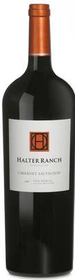 Halter Ranch Cabernet Sauvignon, Paso Robles, California, 2007