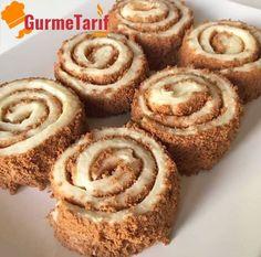 Bisküvili muhallebi rulosu tarifi - Tarif bisküvili muhallebi sarması olarakta geçmekte. Çok hafif ve lezzetli bir sütlü tatlı tarifi
