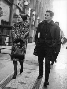 Romy Schneider et Alain Delon omg they're perfect!!